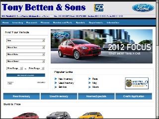 SIC ...  sc 1 st  Michigan & Tony Betten u0026 Sons Ford 3839 Plainfield Ave NE Grand Rapids ... markmcfarlin.com